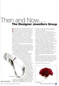 Craft and Design Magazine article