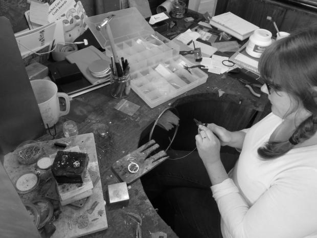 Karen Elizabeth Donovan at work at ECA