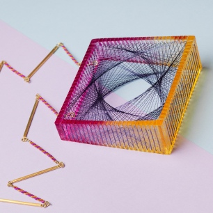 Natalie Adams jewellery Square Spiral Necklace_Adams_2015_Jewellery